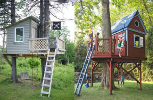 Construieste o casa in copac pentru copilul tau. 24 idei magice