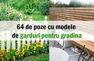 Idei de garduri pentru gradina. Cum sa ne amenajam gradina fara prea mare efort